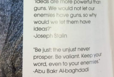 A High School Yearbook Included Quotes from Hitler, Stalin, and ISIS