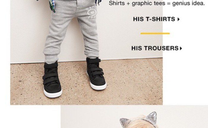 """The Gap Advertises a Kids' Shirt Featuring Albert Einstein . . . But They Misspelled """"Einstein"""""""