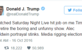 "Now Donald Trump is at War with ""Saturday Night Live"""