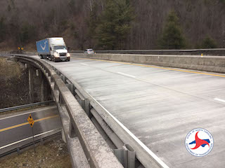 Wall Work to Restrict Lanes Near State Line