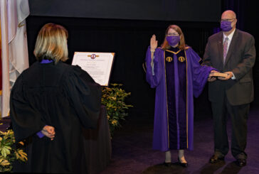 WCU Chancellor takes oath of office