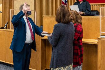 Moore Sworn In As Assistant DA