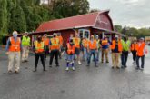 Lowe's, Rotary work together to spruce up Sylva