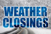 Closings & Delays for December 1st, 2020