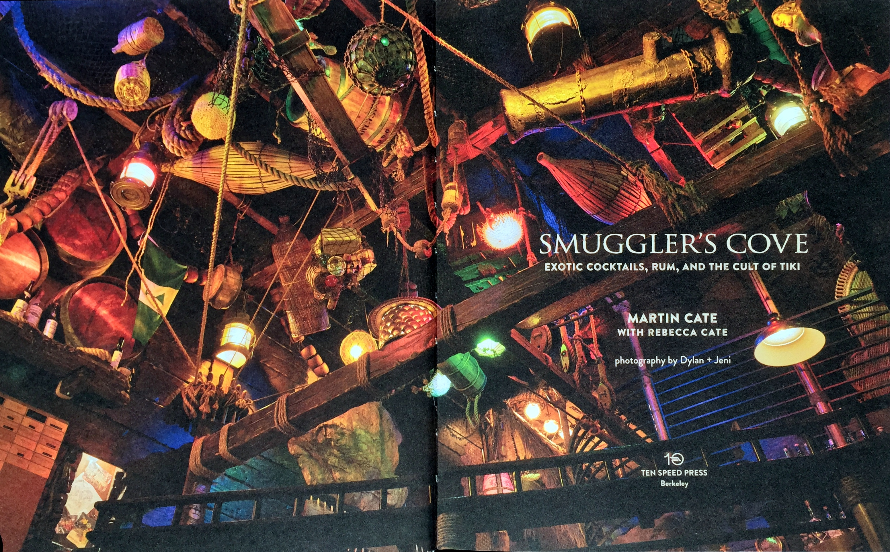 Smuggler's Cove book