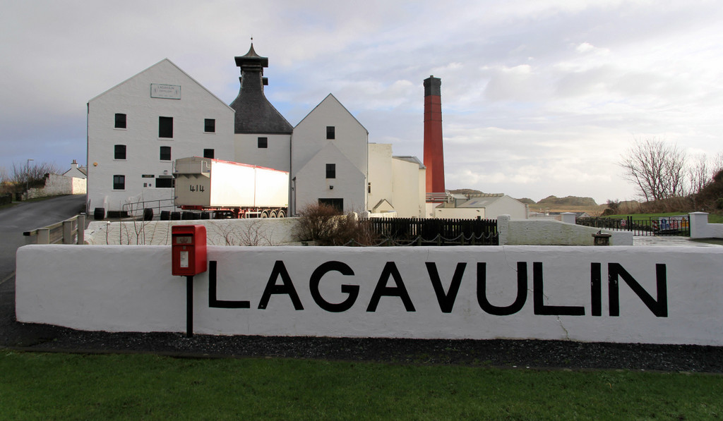Lagavulin distillery, Islay