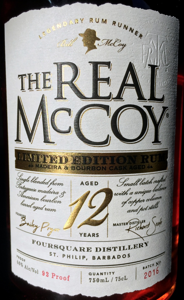 The Real McCoy 12 year Limited Edition