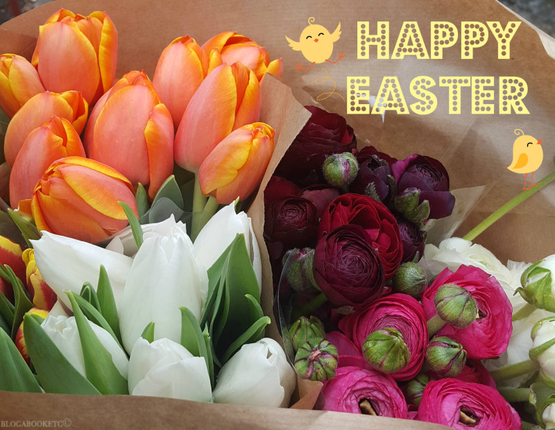 Easter Weekend, Easter, Bank Holiday, Flowers, Flower Market, Blog A Book Etc, Fay