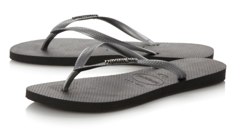 Happy Feet, Footwear, Shoes, Summer, Havaianas, Havaianas Slim Logo Metallic Flip Flops, Flip Flops, Womens, Blog A Book Etc, Fay