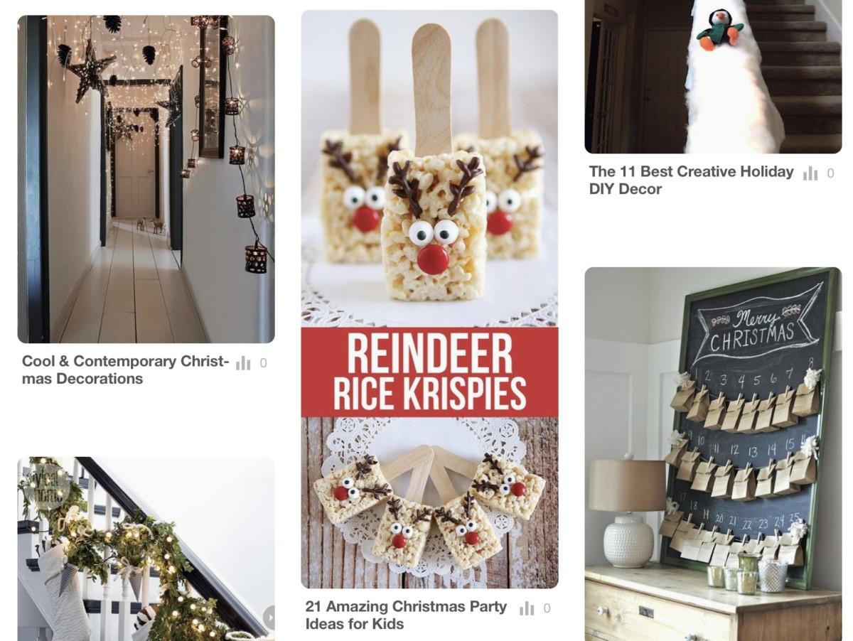BLOGMAS Day 9 | Pinterest - BLOGMAS Board, Blogmas, Christmas, festive, festive spirit, Festivities, Christmas Tradition, Pinterest, Pinterest Board. Blog A Book Etc, Fay