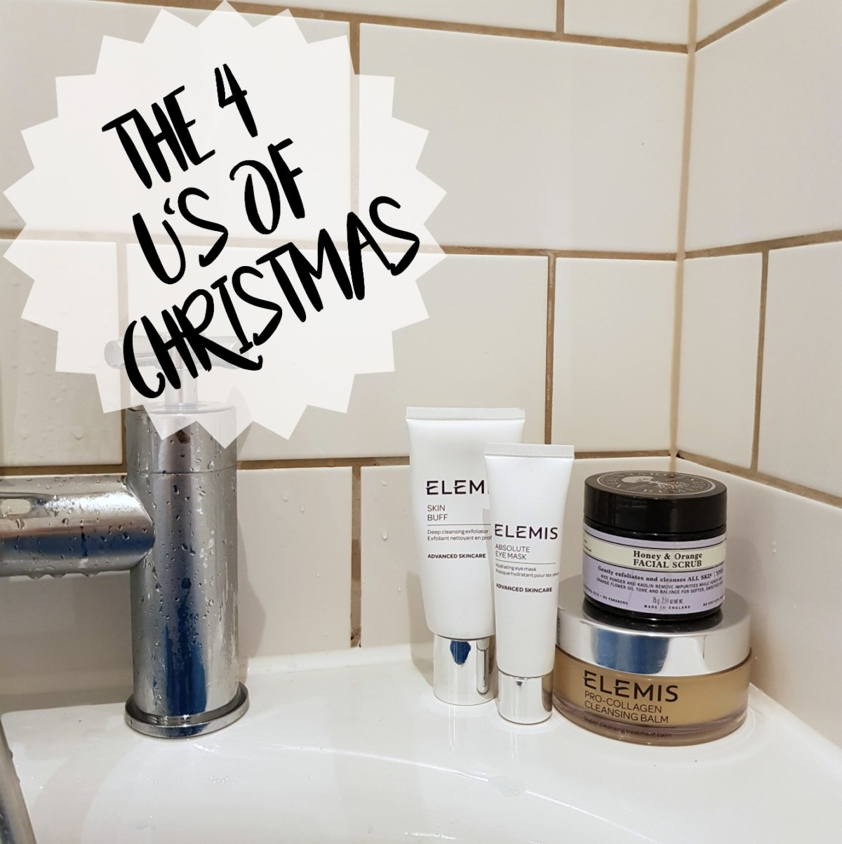 BLOGMAS, Christmas, The 4 U's of Christmas, Festive Season, Festive, Elemis, Neal's Yard, Skin Care, Skin, Beauty, Face, Bath, Bath Time, Chill, Relax, Unwind, Unburden, Under My Duvet, Understand, Blog A Book Etc, Fay