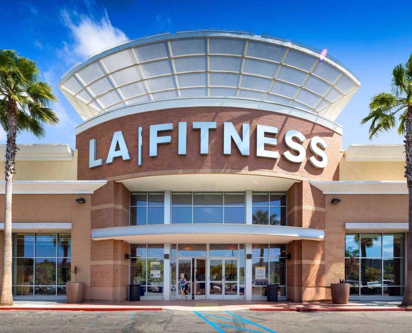 LA Fitness Entrance