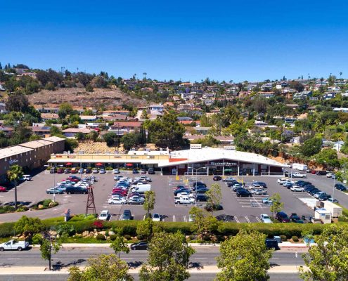 Del Cerro Shopping Center Parking Lot