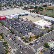 La Brea Retail Aerial View