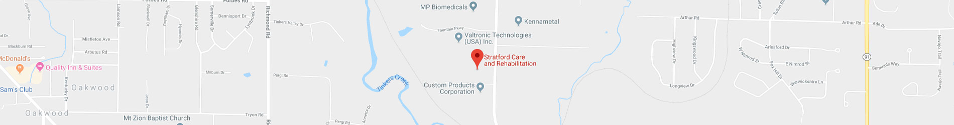 Stratford on Google Maps