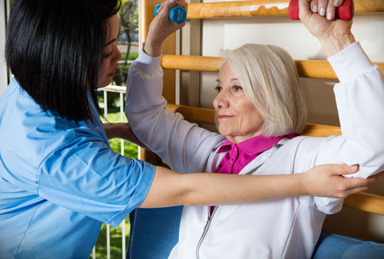 Stratford Care and Rehabilitation has a great skilled nursing team