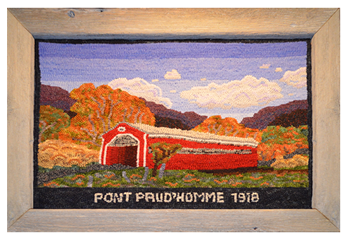 Le Pont Prud'homme. Dawna Matthew