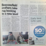 2015 / Montreal Gazette  (Printed Version) March 4, 2015 Page D17 Beaconsfield crafters take rug hooking to a new level By Kathryn Greenaway