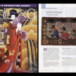2012 / Notre professeure Judith Dallegret est dans les manchettes! Rug Hooking Magazine a publié un article sur ses tapis! ___Our Teacher Judith Dallegret is In The News. Rug Hooking Magazine  has showcased her work!