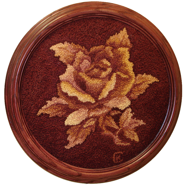 Kay Cousineau. Talisman Rose, a Joan Moshimer pattern