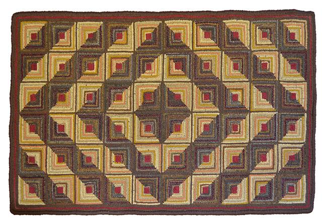 Dawna Matthew. Geometric. Traditional quilting pattern.