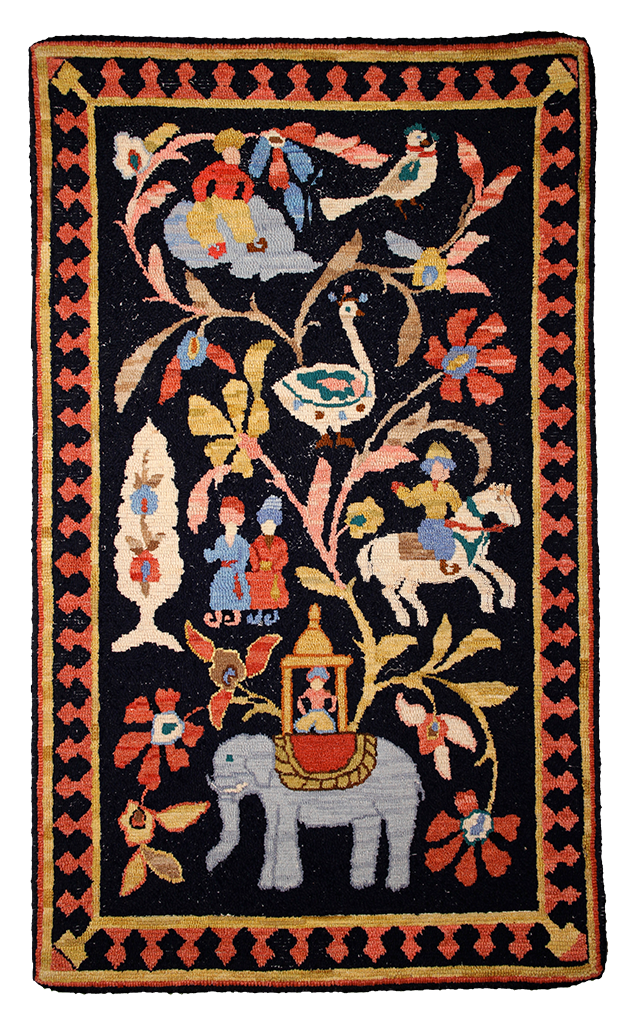 Sally Perodeau. Oriental Rug., a McGown-Flynn pattern