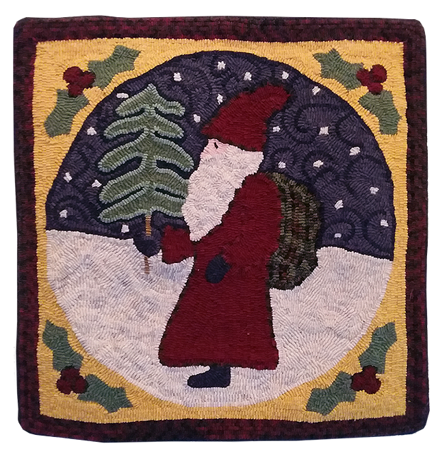 Christina Delaney, Le vieux père Noël, un patron de Polly  Minick