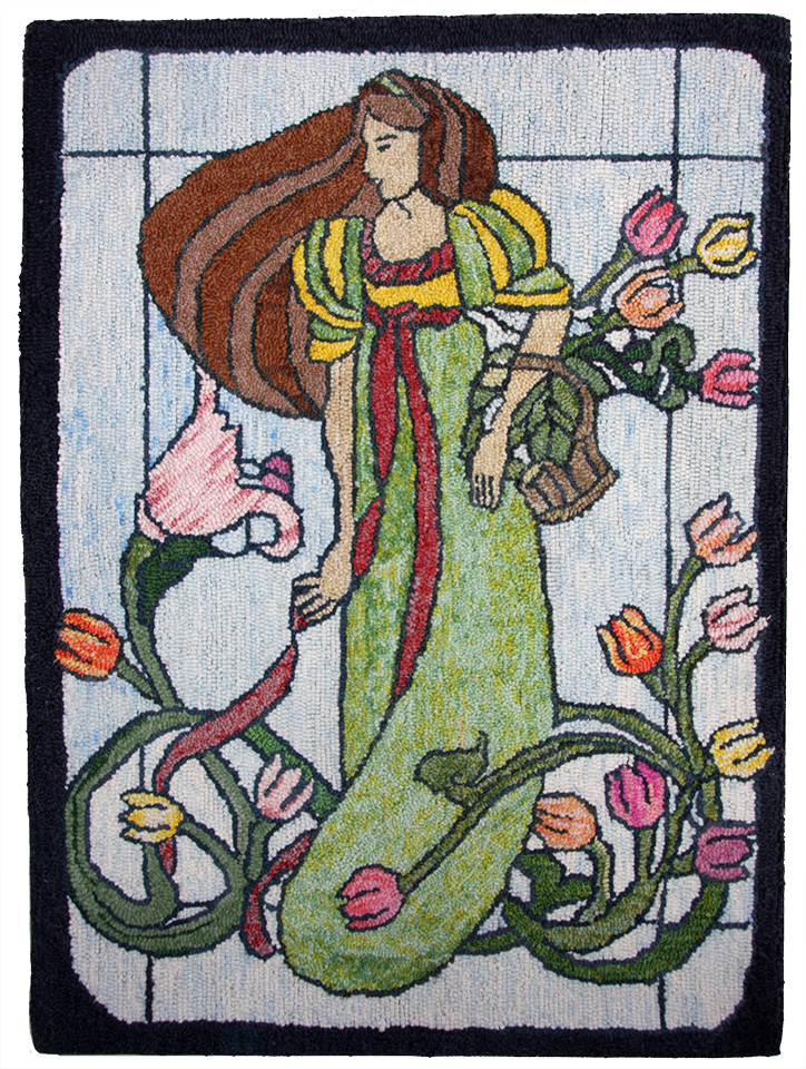 Denise Vandenbemden.  Stained Glass. Adapted Design.