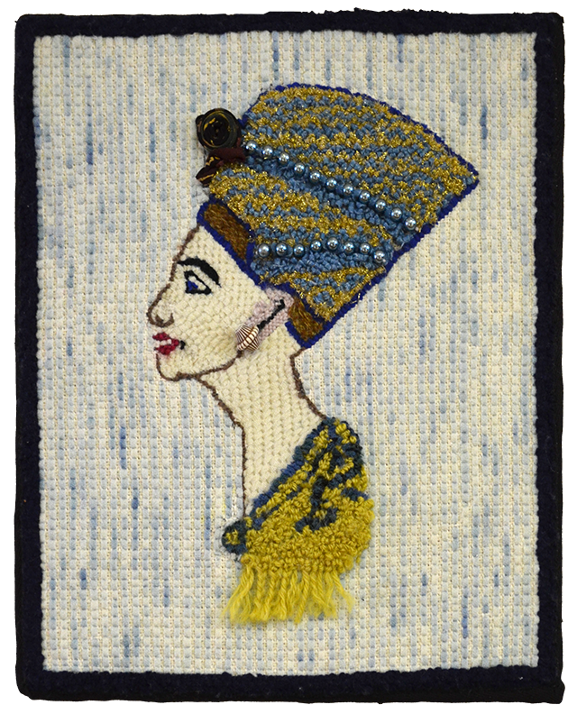 Rosemary Jean Hudson.  Néfertiti.