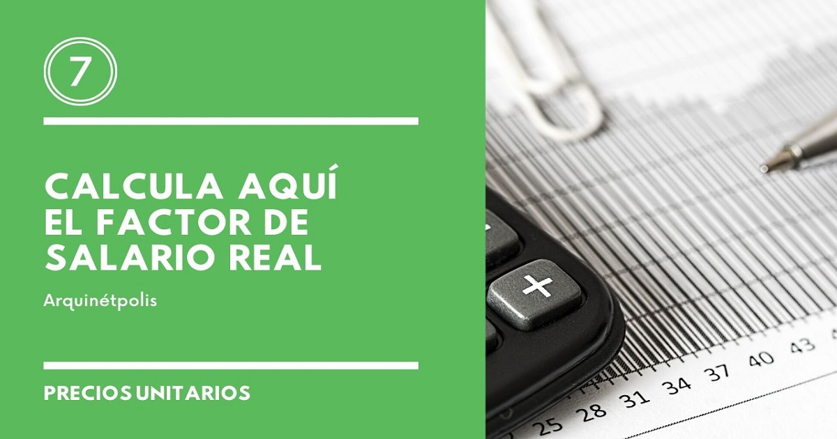 Factor de Salario Real
