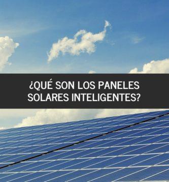 paneles solares inteligentes