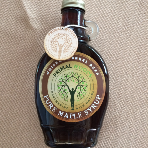 whiskey barrel aged pure maple syrup 8 oz