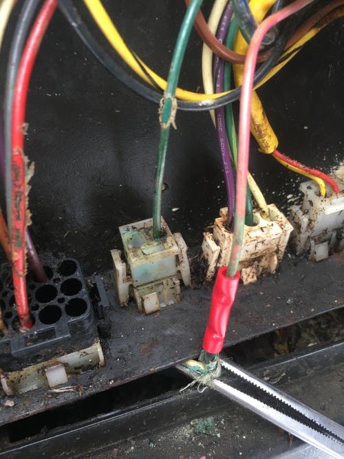 central boiler door open interim solution