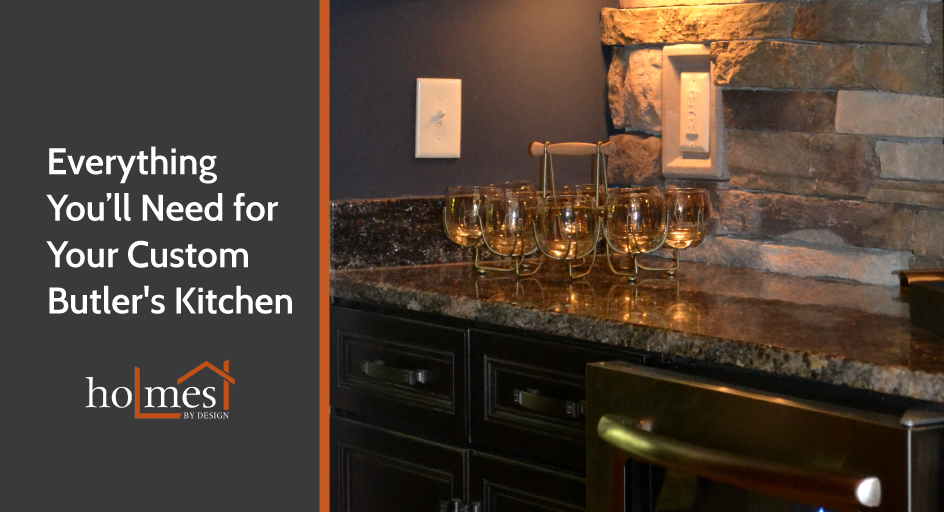 Considering adding a Butler's Kitchen to your Murfreesboro home? Call Holmes!