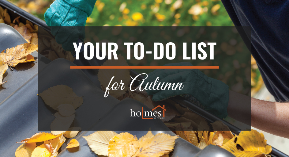 your to do list for autumn