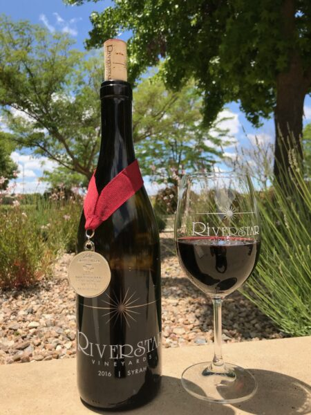2016 Syrah- Silver from the San Francisco International Wine Competition