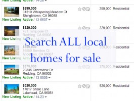 Search All local homes for sale
