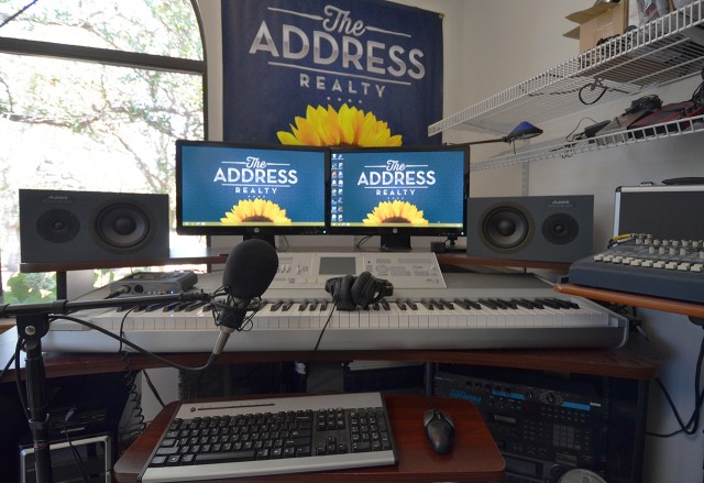 Multimedia production workstation for The Address Realty 2013