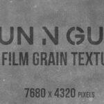 8K Film Grain Overlay