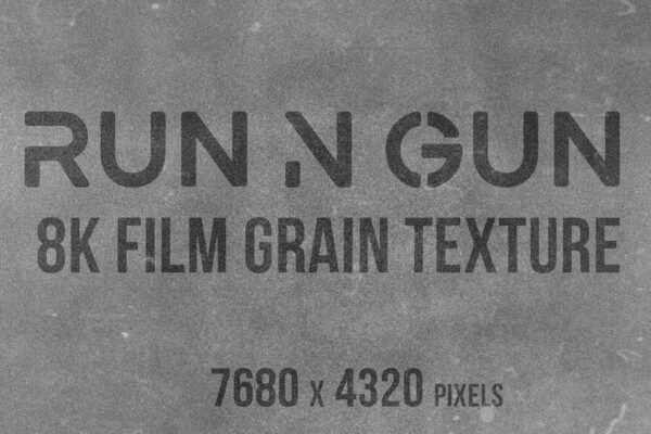 8K Film Grain Example 1