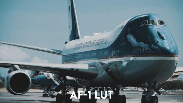Aviator LUT Pack: AF-1 LUT Example 2