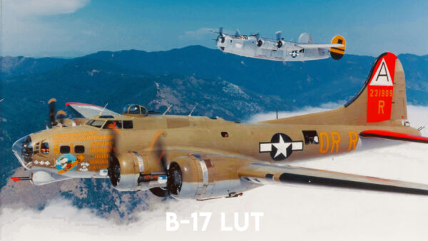 Aviator LUT Pack: B-17 LUT Example 2