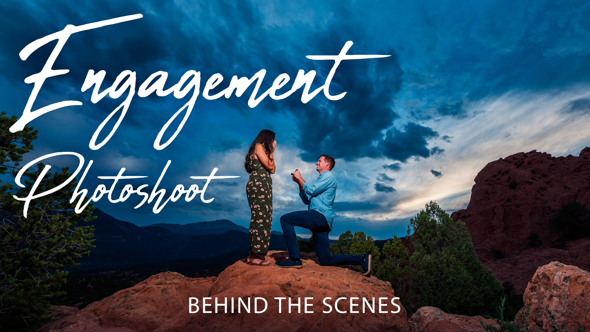 Behind the Scenes: Engagement Photoshoot