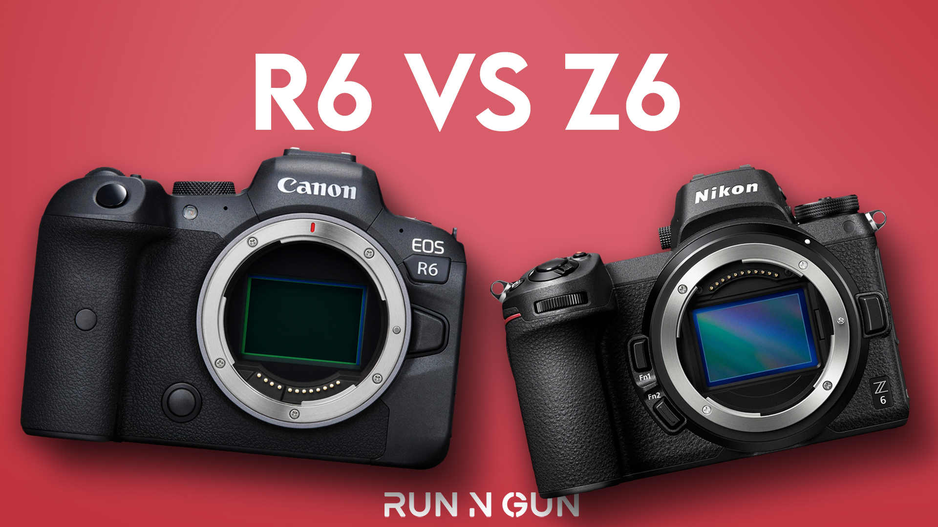 R6 vs. Z6: Mirrorless Comparison