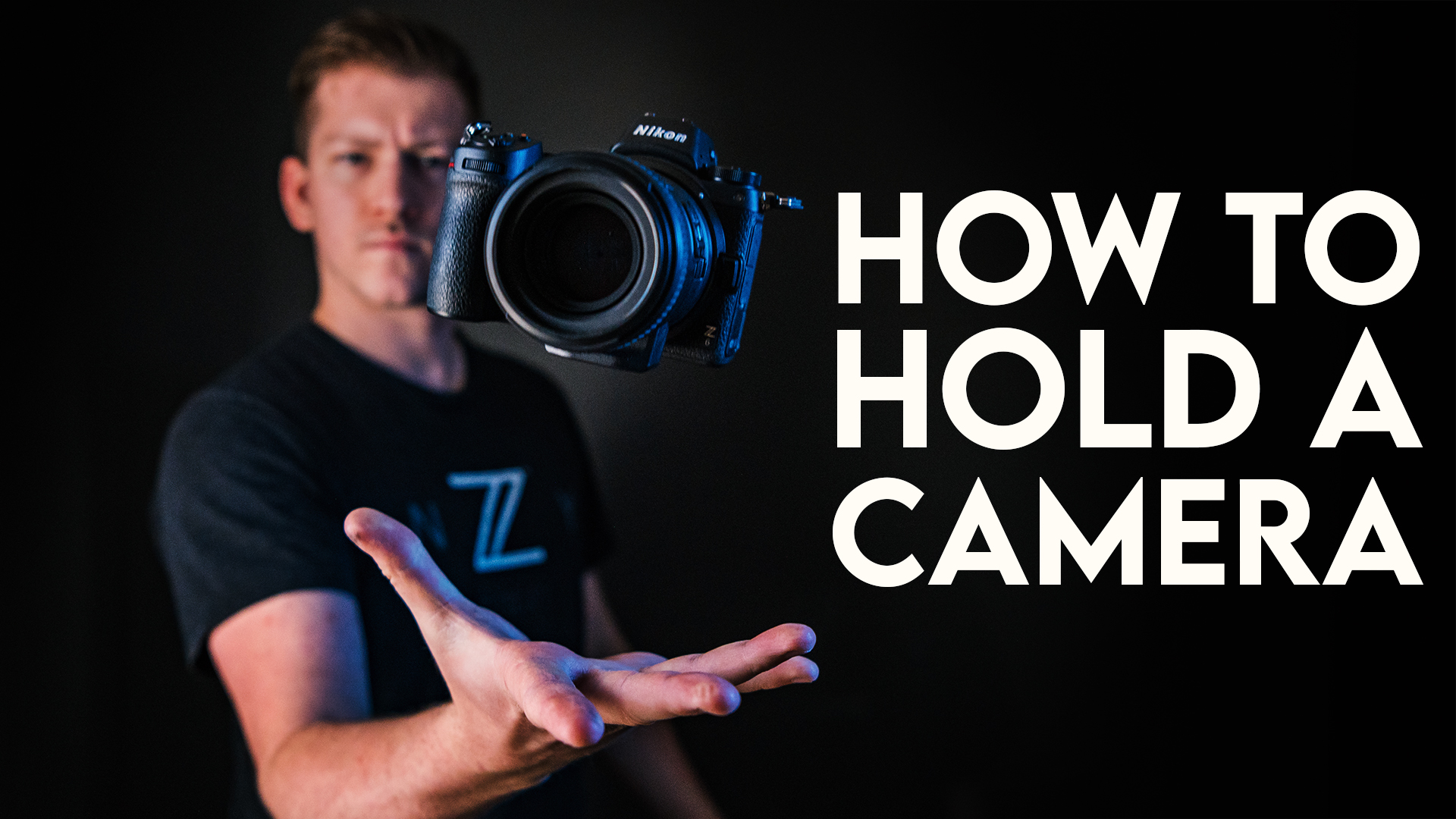 How To Hold Your Camera to Take Sharper Photos