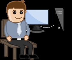 transcriptionist-desk