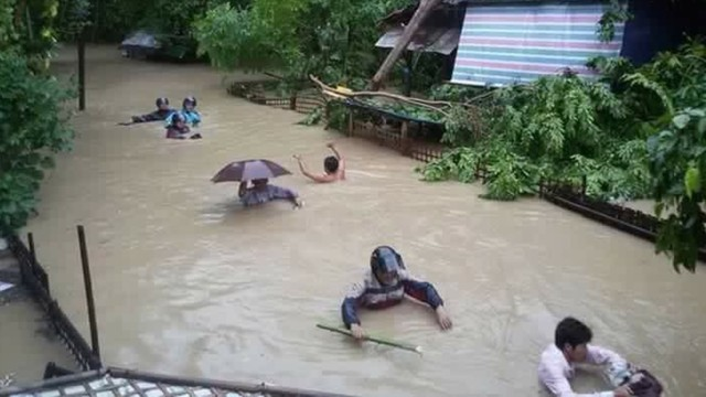 Donate to Myanmar Flood Relief Fund