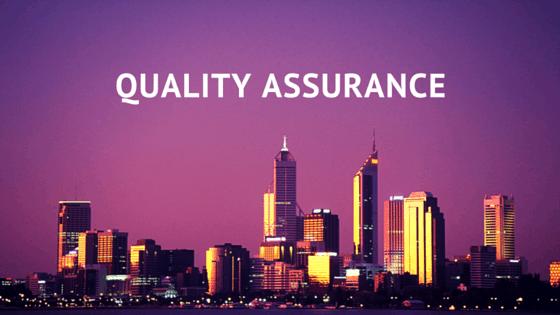 Transcription quality assurance process