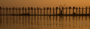 U-Bein Bridge at dusk