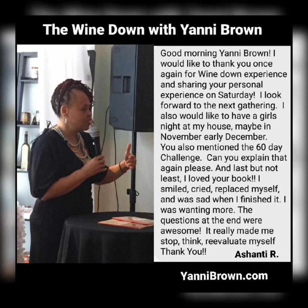 Wine down Yanni